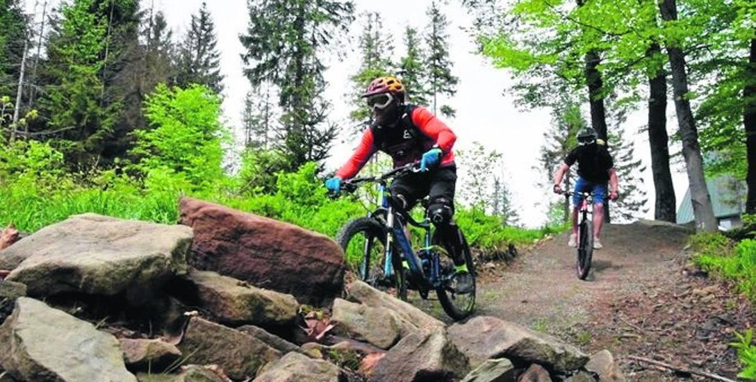Górskie ścieżki rowerowe powstały już na Koziej Górze oraz Szyndzielni. Wkrótce będą dostępne na Hali Skrzyczeńskiej
