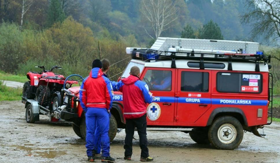 Film do artykułu: Nocna akcja ratunkowa na Babiej Górze. Turyści zgubili szlak