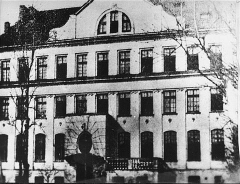 Dom Sierot – sierociniec dla dzieci, zdjęcie z około 1935 roku.