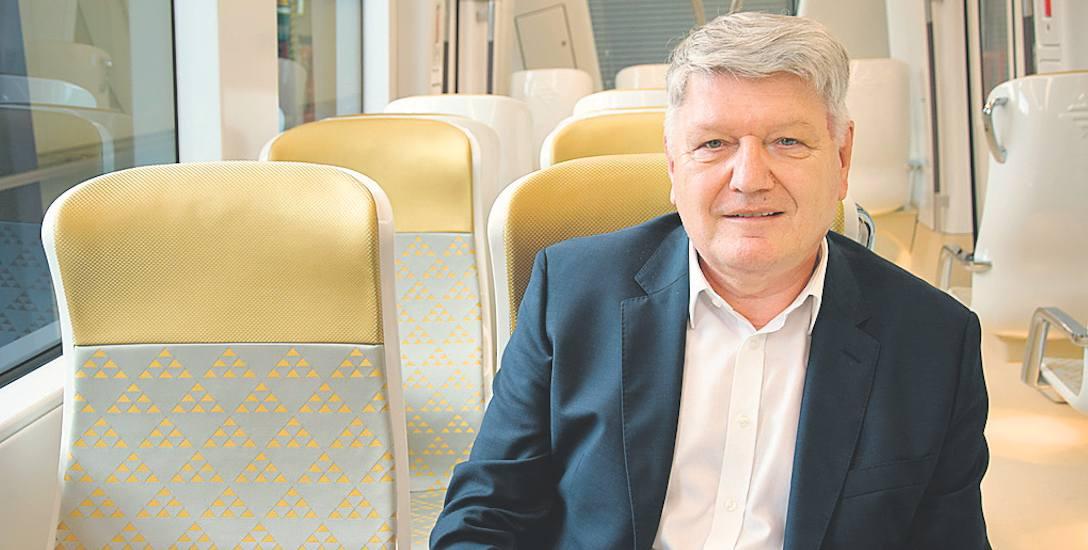 Lesław Kuzaj, prezes Alstom Polska w pierwszej klasie metra dla Rijadu, stolicy Arabii Saudyjskiej