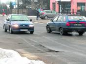 Dziury straszą pabianickich kierowców