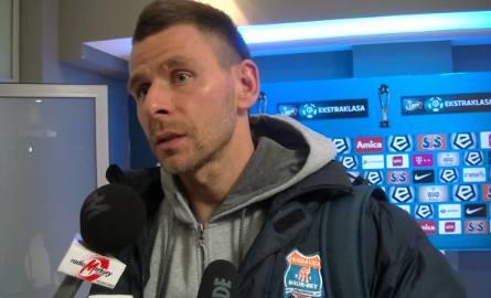 Wojciech Kędziora: To było przypadkowe odbicie, ciężko było zareagować [WIDEO]