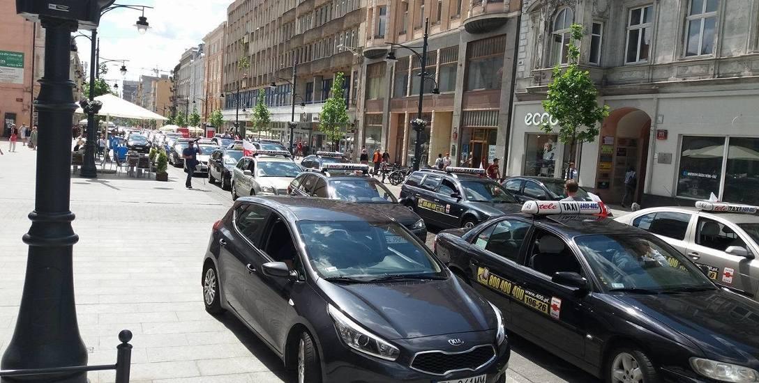Czego żądają   taksówkarze?