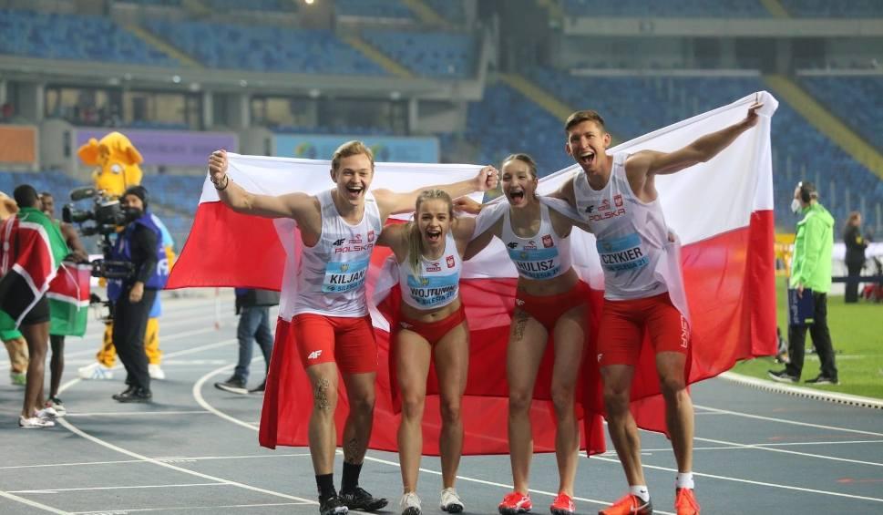 Film do artykułu: Złoto i srebro Polaków na Stadionie Śląskim! Efektowne zdjęcia z Mistrzostw Świata Sztafet 2021