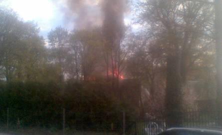 W Kożuchowie doszło do pożaru pustostanu