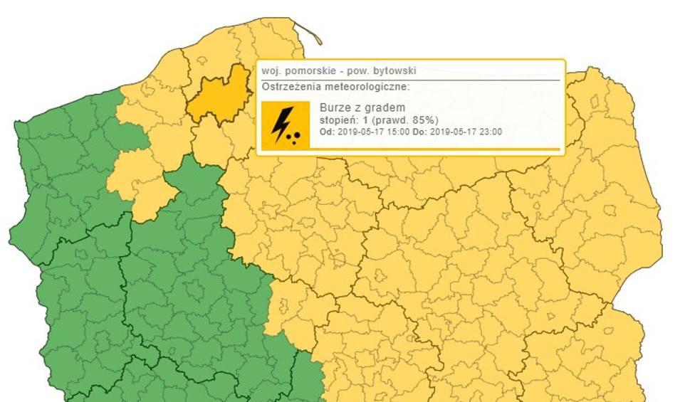 Film do artykułu: IMGW ostrzega. Przewidywane burze z gradem w regionie