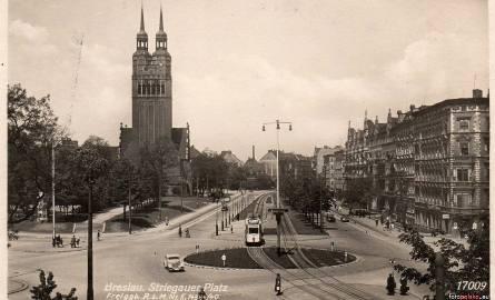 Dzisiejszy Plac Strzegomski