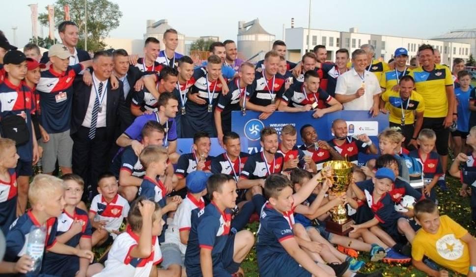 Film do artykułu: Polonia Środa ustrzeliła hat trick w regionalnym Pucharze Polski