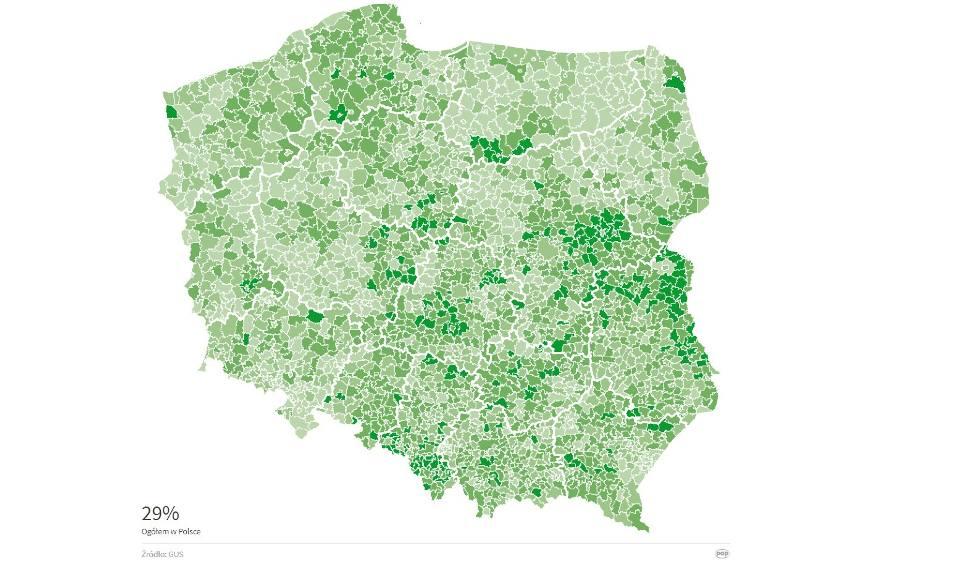 Film do artykułu: Najsłabiej segregują w gminie Zwierzyn, najlepiej w Otyniu. Sprawdź, jak wypadła reszta województwa!