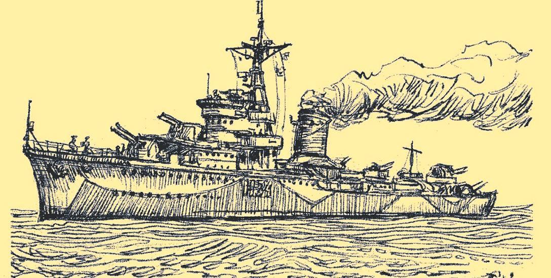 Niszczyciel ORP Błyskawica, który szczęśliwie uniknął pocięcia na złom i dziś, jako okręt-muzeum, jest turystyczną atrakcją Gdyni