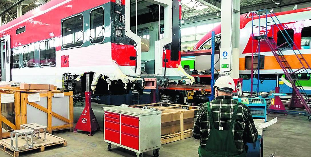Bydgoska firma ma już prawie gotowe pociągi Link dla Deutsche Bahn - to ten m. in. kontrakt przysporzył Pesie sporych kłopotów