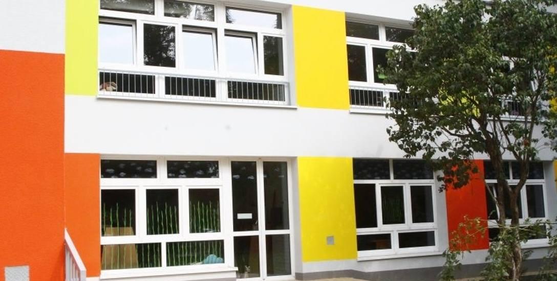 Przedszkole miejskie nr 53 przy ul. Kasprzaka po termomodernizacji.