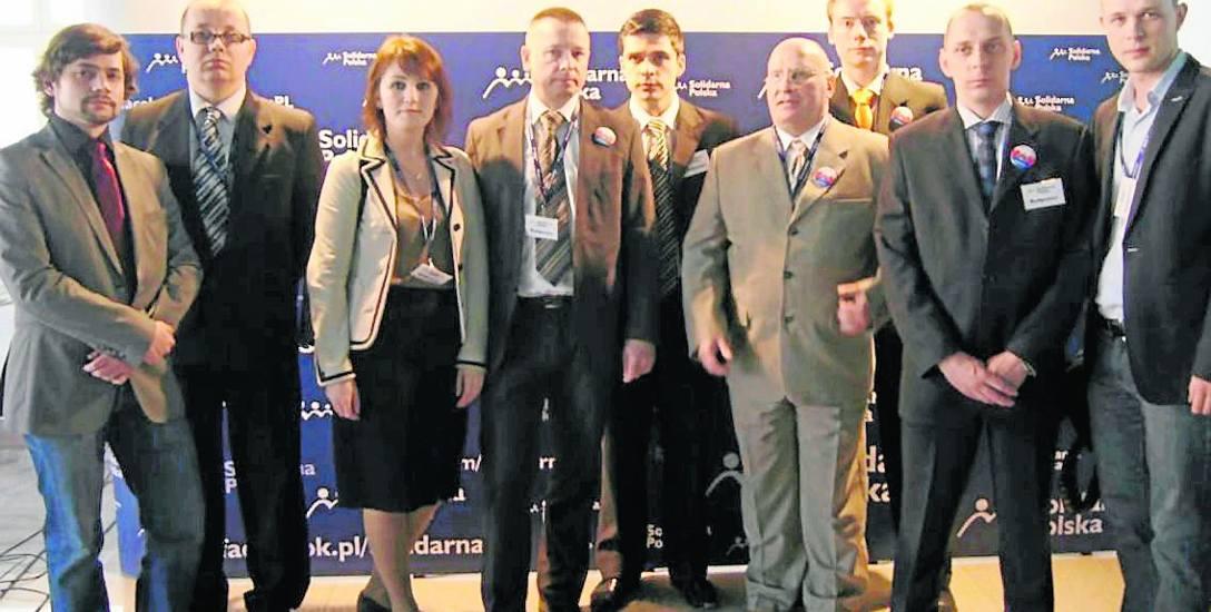 Byli działacze SP.  Wśród nich Szymon  Durlak, Tomasz Popowski, Szymon Dankowski, Krzysztof Magierowski, Tomasz Grądzki, Krzysztof Kozłowski