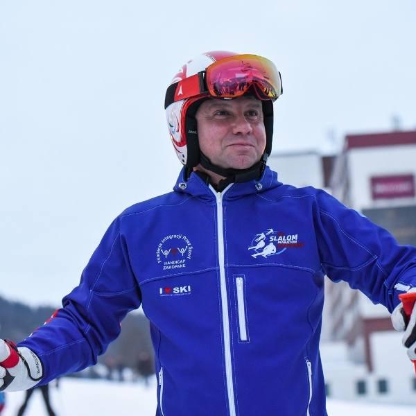 Andrzej Duda to wielki miłośnik narciarstwa