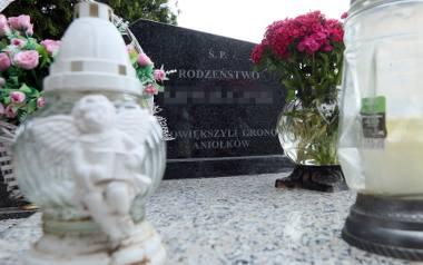 Czerniejów dziś, grób dzieci