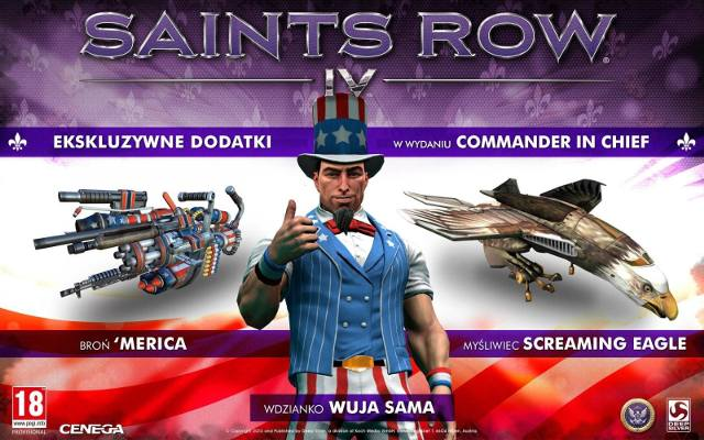 Saints Row IV: Polska wersja językowa będzie