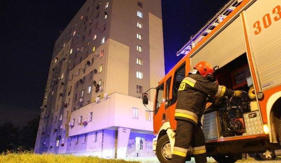 66 Letni Lokator Podejrzewany O Zaprószenie Ognia W Wieżowcu W