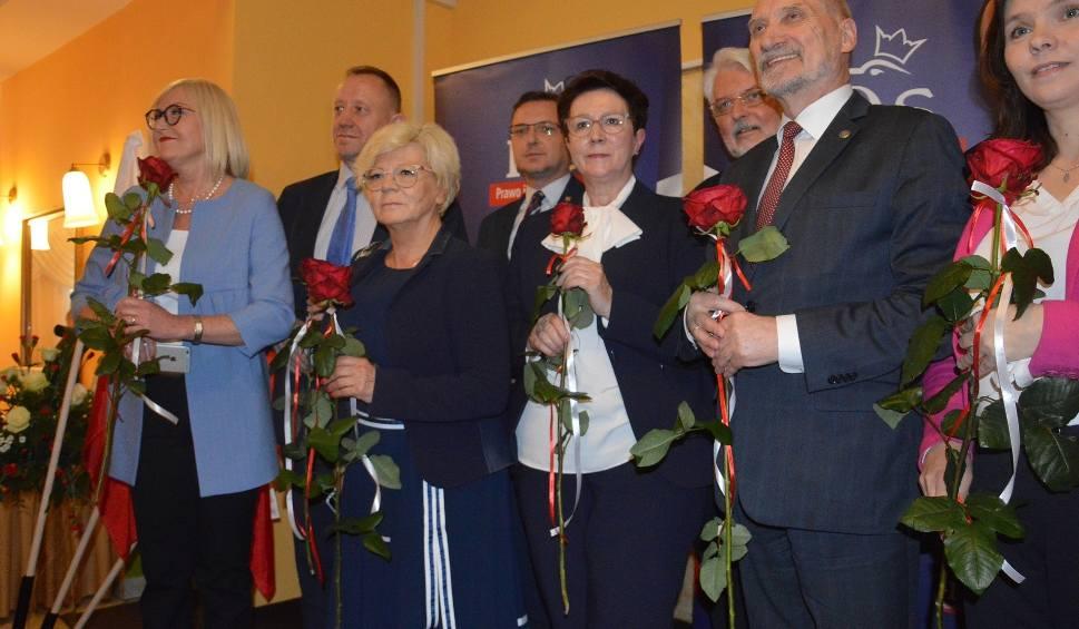 Film do artykułu: Konwencja PiS w Piotrkowie - WYBORY do Europarlamentu. A na niej m. in. Macierewicz, Waszczykowski i Kopcińska [ZDJĘCIA, FILM]