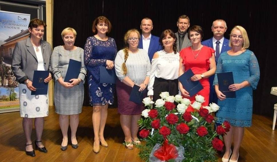 Film do artykułu: Kadencja pełna działań. Wójt nagrodził nauczycieli i dyrektorów szkół w gminie Masłów