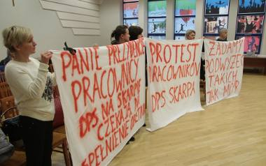 Pracownicy DPS rozczarowani finansową propozycją ratusza