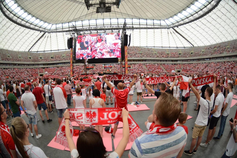 Strefa Kibica na Stadionie Narodowym. Tłumów nie było [ZDJĘCIA]
