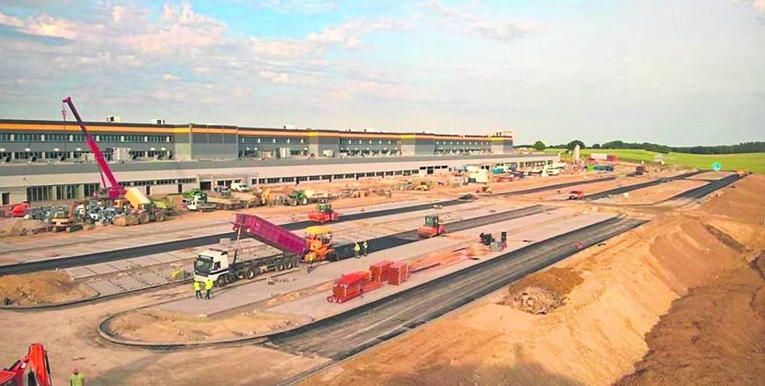 Centrum logistyczne Amazon będzie gotowe na czas