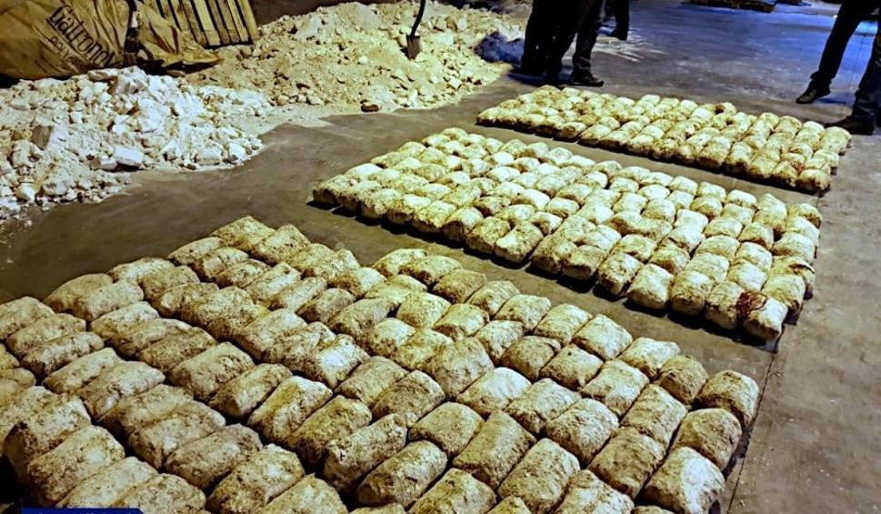 Film do artykułu: Rekordowy przemyt narkotyków udaremniony w gdyńskim porcie. Przejęto ponad ćwierć tony heroiny o wartości 61 mln zł