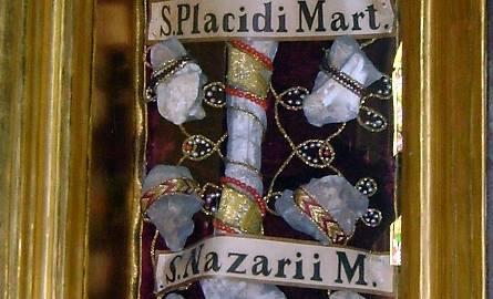 Relikwie z ołtarza głównego Reformatów w Jarosławiu