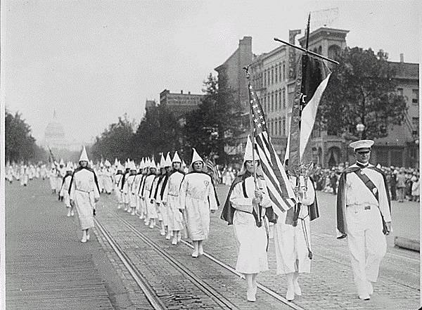 Marsz Ku Klux Klanu w Waszyngtonie, 1928 rok