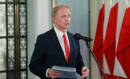 Włodzimierz Tomaszewski, łódzki poseł Porozumienia, wstrzymał się od głosu.