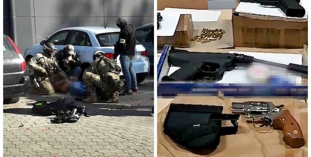 W akcji uczestniczyli policjanci z Centralnego Pododdziału Kontrterrorystycznego Policji BOA - to ci od działań siłowych