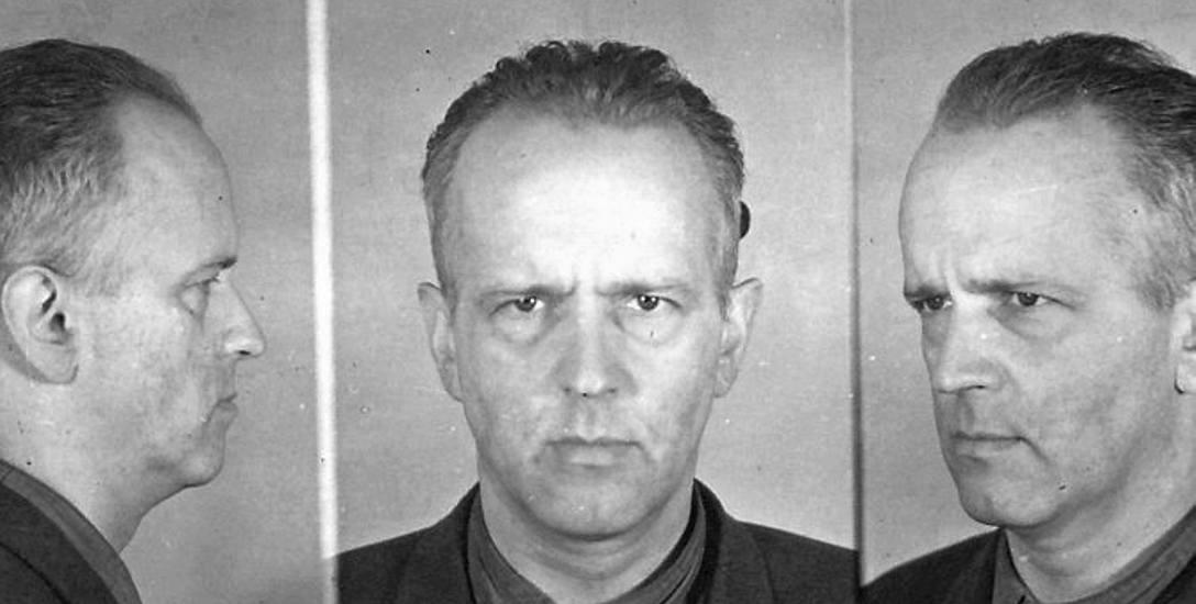 Fotografia więzienna Kazimierza Badowskiego