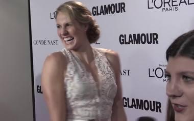 """Gwiazdy na imprezie Kobieta Roku """"Glamour"""" w Los Angeles [WIDEO]"""