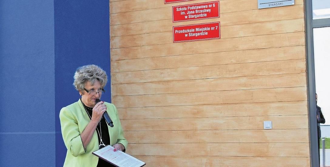 Nowe miejsca dla najmłodszych mieszkańców powstały w nowym budynku na osiedlu Pyrzyckim. Na zdjęciu Anna Gołofit, dyrektor