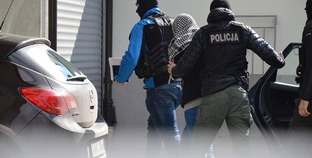 Podejrzana zatrzymana przez policję