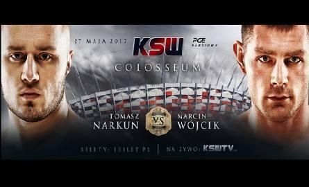 KSW Stadion Narodowy. Tomasz Narkun zmierzy się z Marcinem Wójcikiem. Jak na razie to jedyny z berserkerów, którego występu możemy być pewni na majowej
