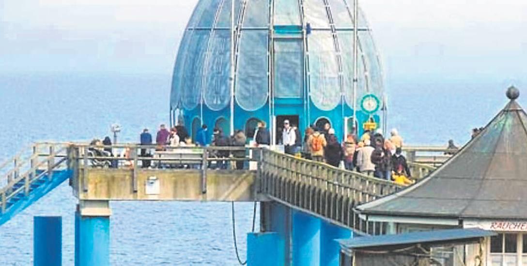 W 2010 roku miala powstać w Kołobrzegu podwodna gondola na wzór tej w Sellin na niemieckiej wyspie Rugia. We wtorek prezydent spotkał się z inwestorem,