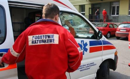Starszy mężczyzna zasłabł na parapecie, na 6 piętrze wieżowca w Bydgoszczy