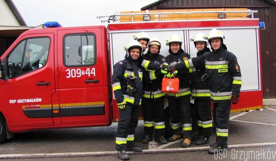 Film do artykułu: Fundacja LOTTO podarowała strażakom z Grzymałkowa defibrylator