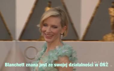 Cate Blanchett wyróżniona Kryształową Nagrodą na Światowym Forum Ekonomicznym w Davos za działalność humanitarną