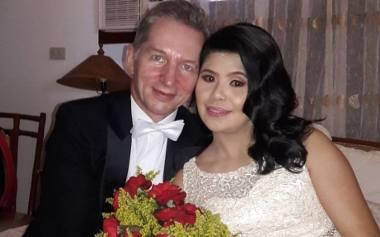 Ślub Dionizego i Cheryl Brylków na Filipinach.