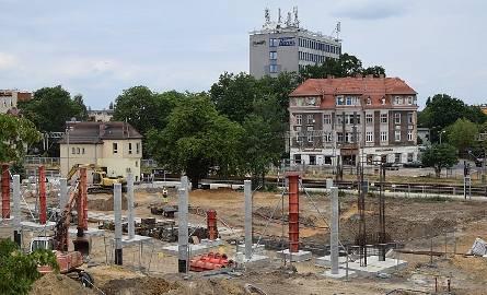 Inwestycje w okolicach dworca: remont ul. Dworcowej, budowa Centrum Przesiadkowego, przedłużenie tunelu...