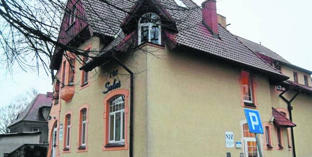 Oddział psychiatryczny Salus w Szczecinku znajduje się w budynku dawnej apteki szpitalnej