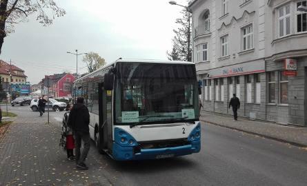 Zepsuty autobus zablokował centrum Ustronia