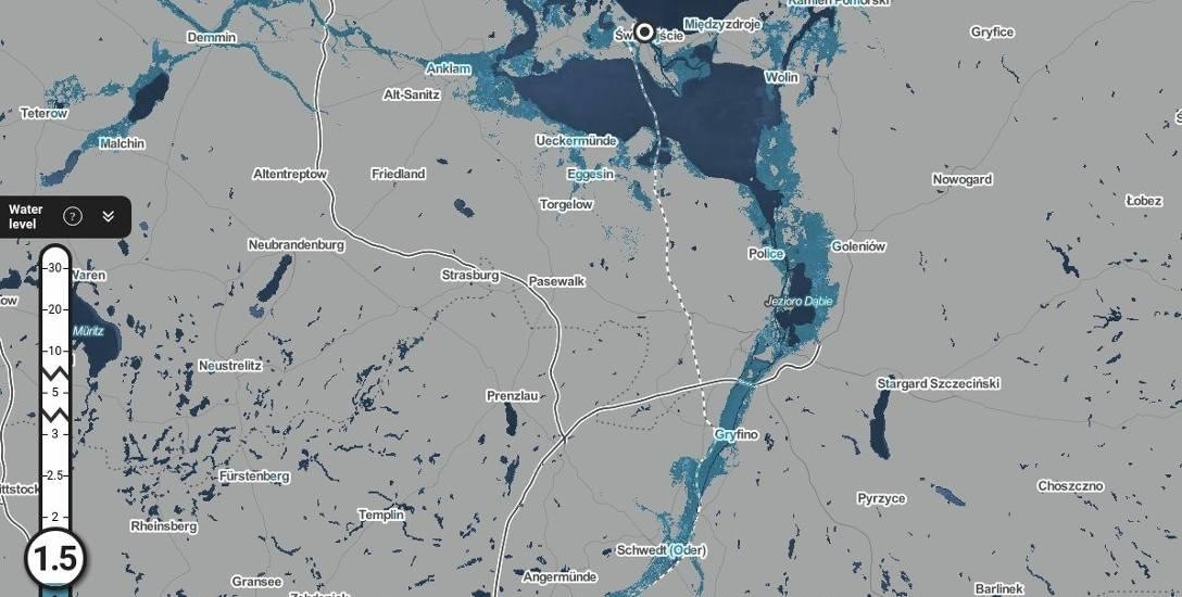 W Szczecinie nie możemy czuć się bezpiecznie - tak wygląda mapa zagrożenia zalaniem na skutek ocieplenia klimatu