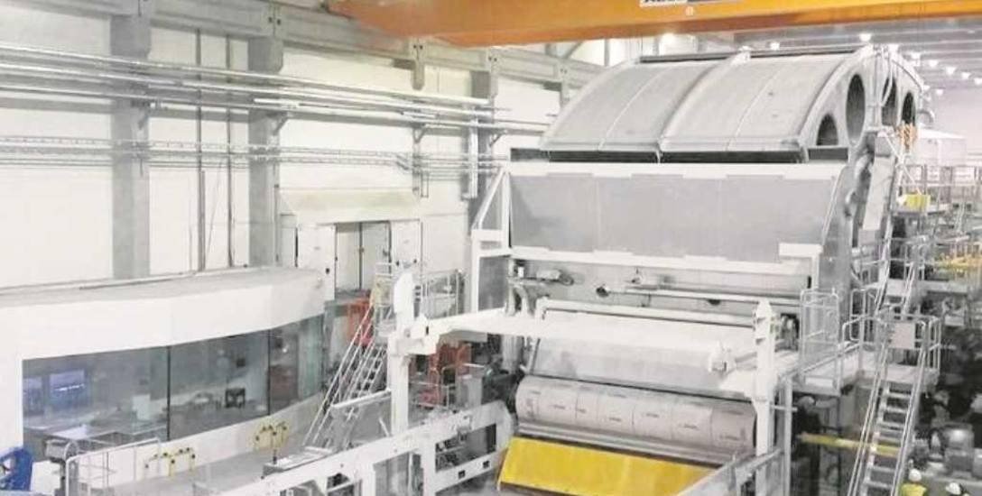 Nowa maszyna, wydajna i energooszczędna to olbrzym o szerokości aż 5,6 metra. Sam jej cylinder waży aż 170 ton