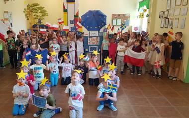Dzieci z Przedszkola nr 1 w Łapach