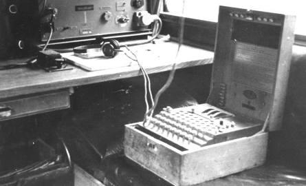 Maszyna szyfrująca Enigma na froncie wschodnim