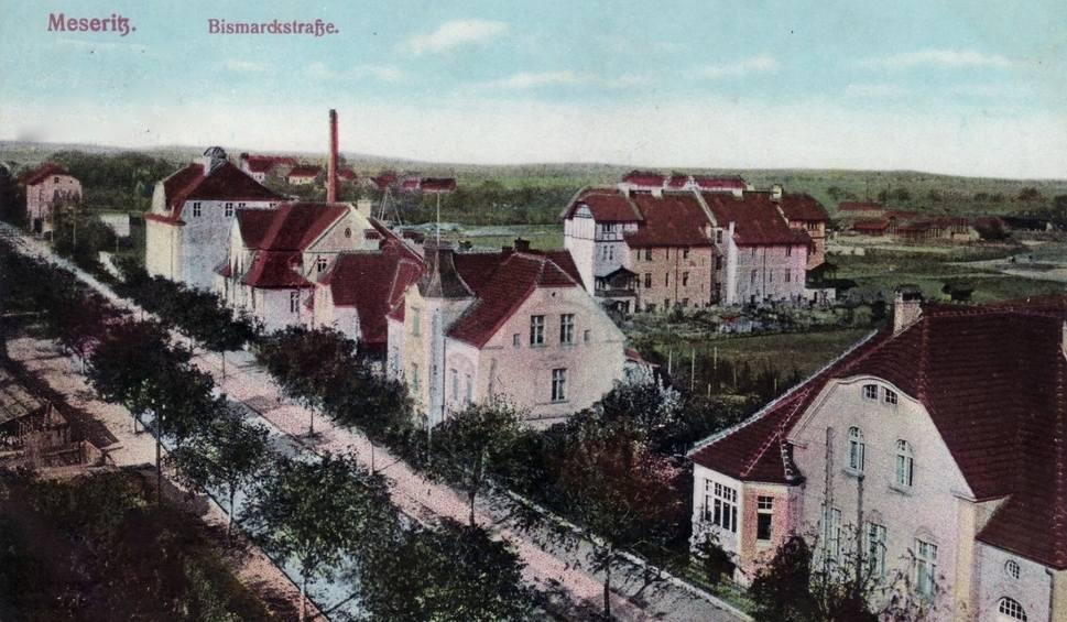 Film do artykułu: Kiedyś Bismarckstrasse w Miedzyrzeczu była reprezentacyjną ulicą miasta [ARCHIWALNE POCZTÓWKI]