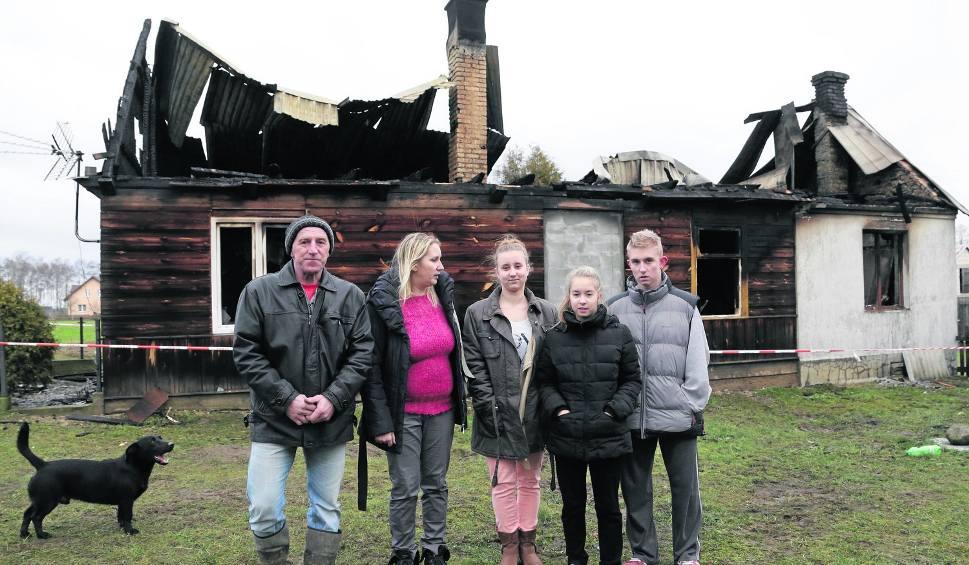 Film do artykułu: Ołdaki. Rodzina straciła dom, ale nadzieję wciąż ma